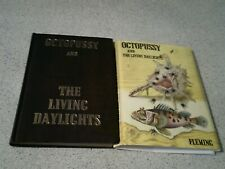 IAN FLEMING-- 1ST EDITION--OCTOPUSSY AND THE LIVING DAYLIGHTS-- HARDBACK, COVER