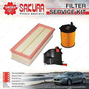 Oil Air Fuel Filter Kit for Citroen Berlingo B9C C3 C4  1.6L HDi Turbo Diesel