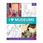 I Heart Museums Activity Book Kids Educational Art Draw Coloring Mudpuppy  New