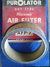 NORS Purolator Air Filter # AFP-7, Fits Mercury Lincoln 1957