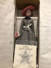 "16� Ashton Drake Gene Doll ""Love, Paris� Black & White Tweed Dress Blonde"
