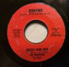 VOCAL GROUP 45: THE DEMENSIONS Over the Rainbow/Nursery Rhime Rock MOHAWK 116