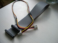 Floppy 34 Pin  Data & Power Cable Kit 50 CM for Amiga Gotek
