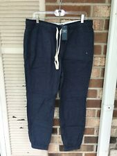 $48 ABERCROMBIE & FITCH Men's SLEEP JOGGERS Pant SIZE XL