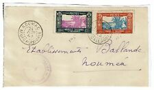New Caledonia 1943 Partial Cover to USA, Allied Censor Stamp - Lot 101517