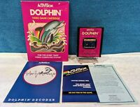 Dolphin (Atari 2600, 1983) Complete in Box - Tested & Working