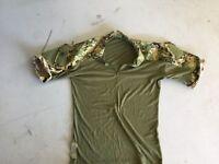 Crye Precision AOR2 Navy Custom NC Modded Combat Shirt - LG L - SEAL DEVGRU NSW