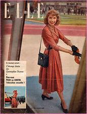 ▬►Elle N° 184 Juin 1949 MODE FASHION VINTAGE_LORELLE HEARST_DIANA CANWAY