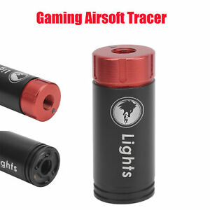 Tactical Tracer Unit for Paintball Airsoft Spitfire Effect with Fluorescence