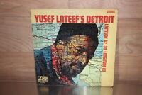 "RARE - Yusef Lateef – Yusef Lateef's Detroit - 12"" LP Vinyl Record 1969 Jazz"