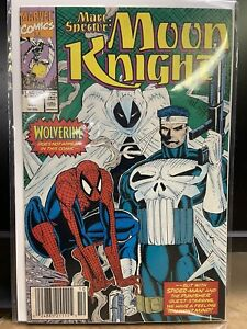 Marvel - Marc Spector: Moon Knight (1993) Spider-man Punisher Newsstand!