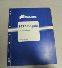 Fiat Allis 8215 Engine Service Repair Manual 60406190