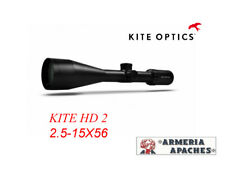 Ottica puntamento cannochiale Kite Optics Cannocchiale KSP HD2 2.5-15X56