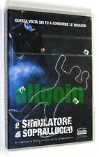 Gioco PC CD-ROM SIMULATORE SOPRALLUOGO Replay 2002 POLIZIA SCIENTIFICA INDAGINI