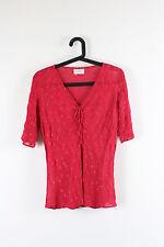 V Neck Short Sleeve Floral Petite Tops & Shirts for Women