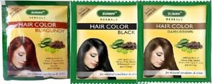Baksons Sunny Herbals Hair Color with Arnica, Henna, Shikakai 20gm (all Colors)