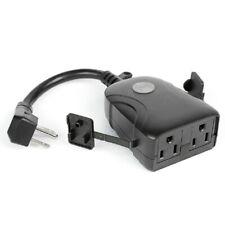 Feit Electric Plugwifiwp Smart Plug Pvc Black
