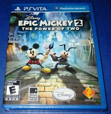 Epic Mickey 2:The Power of Two PS Vita *Factory Sealed *Region Free *Free Ship