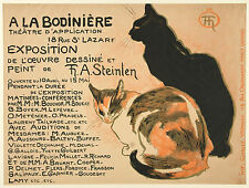 Theophile Steinlen Reproduction: Exposition Poster - Fine Art Print