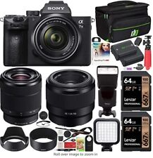 Sony Alpha A7 III 24.2MP Digital Camera - Black (Kit with FE 28-70 mm...