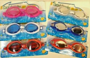 Swim Goggles Adult Choice Color & lenses   new
