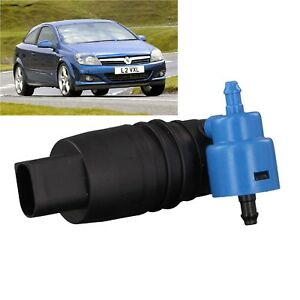 Front & Rear Windscreen Washer Pump Vauxhall Astra Hatchback 2004 to 2009 H type