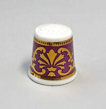 Kämmer PORCELLANA ditale Fiore Ornament oro/viola 2,5x2,6cm 88238