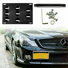Front License Plate Mount Bracket Tow Hook for Mercedes-Benz C E Class W205 W212