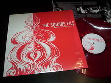 """The Suicide File """"Some Mistakes You Never Stop Paying For"""" LP red Reflections"""