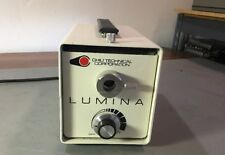 Chiu Technical Lumina F0-150 Light Source w Dolan-Jenner Fiber Optics No Light