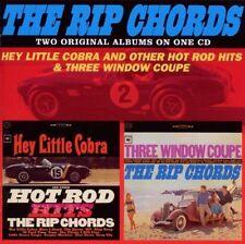 RIP CHORDS HEY LITTLE COBRA/THREE WINDOW COUPE CD NEW