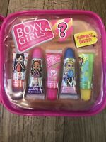 Boxy Girls 5 Lip Gloss Set With Surprise Inside NEW