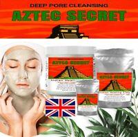Aztec Secret INDIAN HEALING CLAY 100% Natural calcium bentonite Face Mask 50g