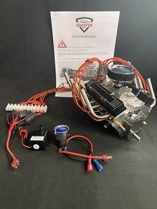 1/4 Scale V8 Nitro Powered working Engine