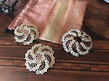 Rare! '60 Parure Flower Brooch Earrings Spilla Orecchini Fiore Vintage Anni 60