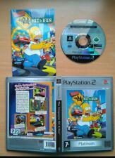 The Simpsons Hit & Run PlayStation 2 Platinum