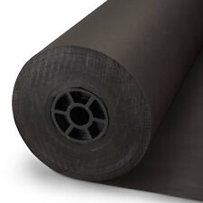 Black Kraft Paper Roll ,Counter Roll, Gift Wrap,760x100m- Premium Quality 125GSM