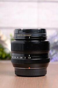 Fujifilm Fujinon 35mm f/1.4 XF R Lens with Caps and UV Filter