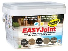 Easy Joint STONE GREY 12.5 Kg *10 tubs* paving jointing compound grout Azpects