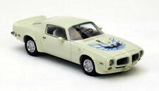 wonderful modelcar Pontiac Firebird Trans Am 1973 white