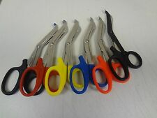 6 PAIRS PARAMEDIC EMT TRAUMA SHEARS SCISSORS FIRST AID 5.5""