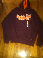 NWT $50 VIRGINIA TECH VT HOKIES HOODED SWEATSHIRT XL