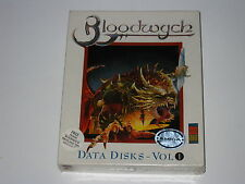 Bloodwych: The Extended Levels (Amiga, 1989) SEALED, 1st Release, Rare Expansion