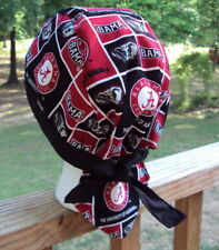 THE UNIVERSITY OF ALABAMA STATE BAMA ROLL TIDE DU RAG SKULL CAP BANDANA BIKER