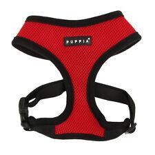 Puppia Air Mesh Soft Harness Dog Puppy Genuine Medium Red Pdcf-ac30 - 07