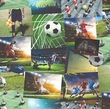 Fine Decor Novelty Football Wallpaper (FD41915)