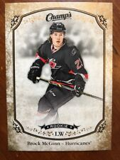 2015-16 UD Champs Rookie Gold Parallel #168 Brock McGinn