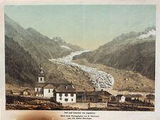 Argentière glaciers GLACIER CHAMONIX-MONT-BLANC AIGUILLE grands Montets Alpes