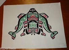 Original painting by JIM GILBERT 1932 - 2000 Dogfish Boy • totem art sexual
