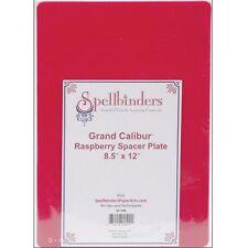 """SPELLBINDERS 8.5"""" X 12"""" RASPBERRY SPACER PLATE FOR GRAND CALIBUR DIE CUT MACHINE"""